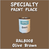 RAL 8008 Olive Brown Quart Can