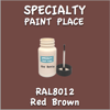 RAL 8012 Red Brown 2oz Bottle with Brush