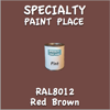 RAL 8012 Red Brown Pint Can