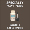 RAL 8014 Sepia Brown 2oz Bottle with Brush