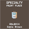 RAL 8014 Sepia Brown Pint Can