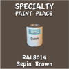 RAL 8014 Sepia Brown Quart Can