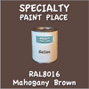RAL 8016 Mahogany Brown Gallon Can