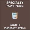 RAL 8016 Mahogany Brown Pint Can