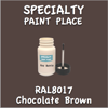 RAL 8017 Chocolate Brown 2oz Bottle with Brush