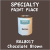 RAL 8017 Chocolate Brown Gallon Can