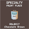 RAL 8017 Chocolate Brown Quart Can