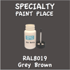 RAL 8019 Grey Brown 2oz Bottle with Brush