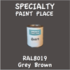RAL 8019 Grey Brown Quart Can