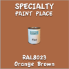 RAL 8023 Orange Brown Pint Can