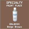 RAL 8024 Beige Brown 16oz Aerosol Can