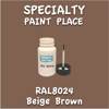 RAL 8024 Beige Brown 2oz Bottle with Brush