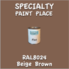RAL 8024 Beige Brown Pint Can
