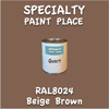 RAL 8024 Beige Brown Quart Can