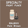 RAL 8025 Pale Brown 2oz Bottle with Brush