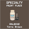 RAL 8028 Terra Brown 2oz Bottle with Brush