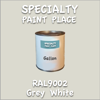RAL 9002 Grey White Gallon Can