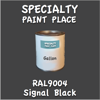 RAL 9004 Signal Black Gallon Can
