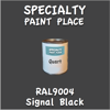 RAL 9004 Signal Black Quart Can