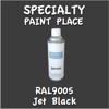 RAL 9005 Jet Black 16oz Aerosol Can
