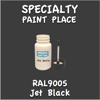 RAL 9005 Jet Black 2oz Bottle with Brush