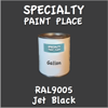 RAL 9005 Jet Black Gallon Can