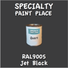 RAL 9005 Jet Black Quart Can