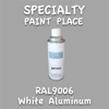 RAL 9006 White Aluminum 16oz Aerosol Can