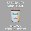 RAL 9006 White Aluminum Gallon Can