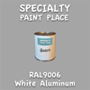 RAL 9006 White Aluminum Quart Can