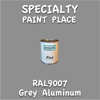 RAL 9007 Grey Aluminum Pint Can