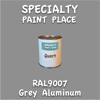 RAL 9007 Grey Aluminum Quart Can