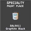 RAL 9011 Graphite Black Pint Can