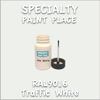 RAL 9016 Traffic White 2oz Bottle with Brush