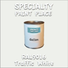 RAL 9016 Traffic White Gallon Can