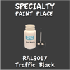 RAL 9017 Traffic Black 2oz Bottle with Brush