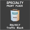 RAL 9017 Traffic Black Gallon Can