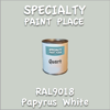 RAL 9018 Papyrus White Quart Can
