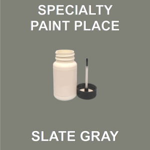 SLATE GRAY - Architectural Touch Up Paint - 2oz Bottle with Brush