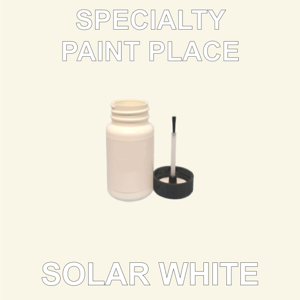 SOLAR WHITE - Architectural Touch Up Paint - 2oz Bottle with Brush