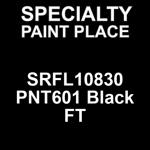 SRFL10830 PNT601 Black FT