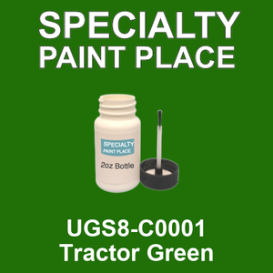 UGS8-C0001 Tractor Green - Sherwin Williams 2oz bottle