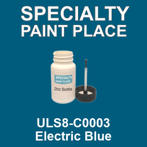 ULS8-C0003 Electric Blue - Sherwin Williams 2oz bottle