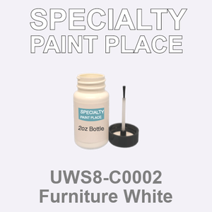 UWS8-C0002 Furniture White - Sherwin Williams 2oz bottle