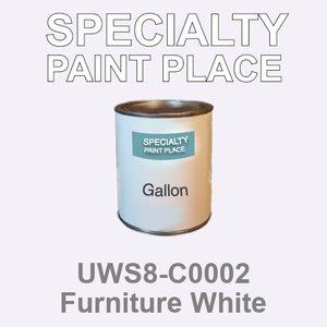 UWS8-C0002 Furniture White - Sherwin Williams gallon