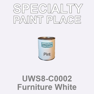 UWS8-C0002 Furniture White - Sherwin Williams pint