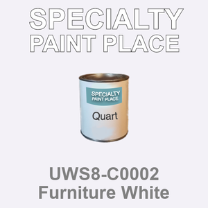 UWS8-C0002 Furniture White - Sherwin Williams quart