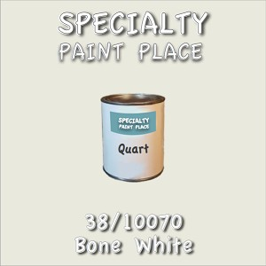 38/10070 bone white-Tiger-touchup-paint quart