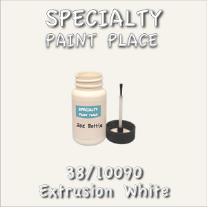 38/10090 extrusion white-Tiger-touchup-paint 2oz bottle with brush