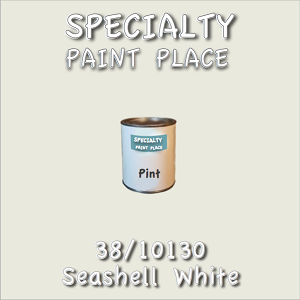 38/10130 seashell white-Tiger-touchup-paint pint